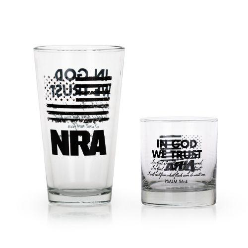 "GL 992 - NRA Testament ""In God We Trust"" Glasses"
