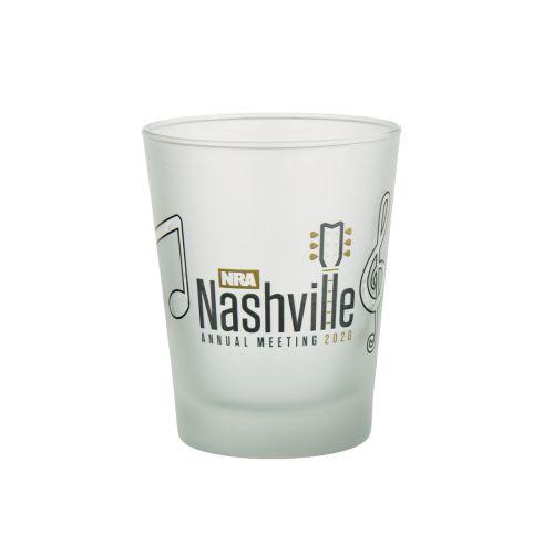 AM 25464, NRA Nashville Music City Shot Glass
