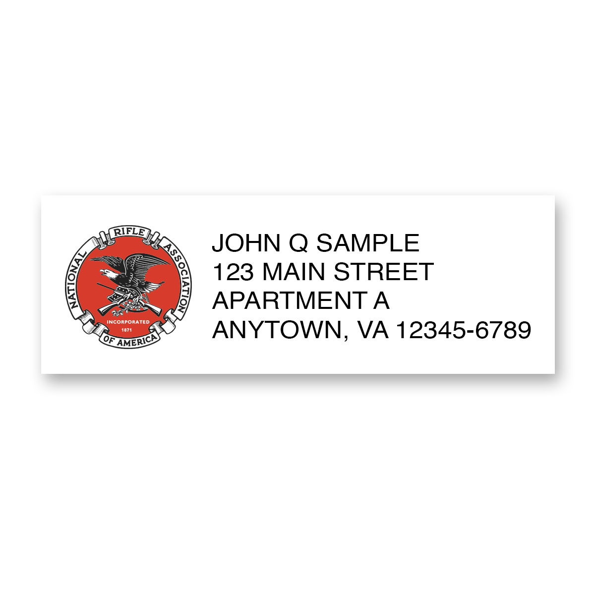 NRA return address label