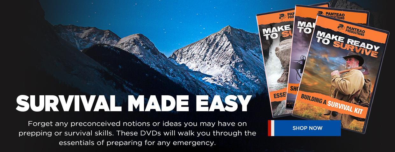 Make Ready Survival DVDs