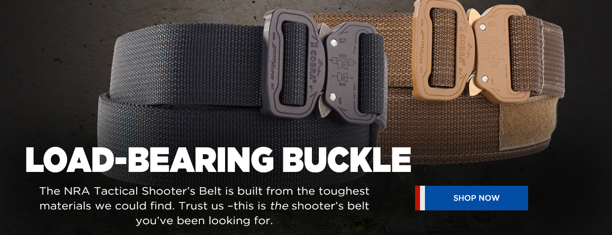 NRA Tactical Shooter's Belt