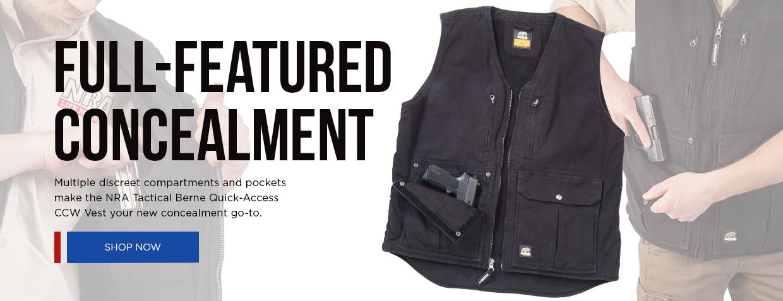 Berne Quick Access Vest