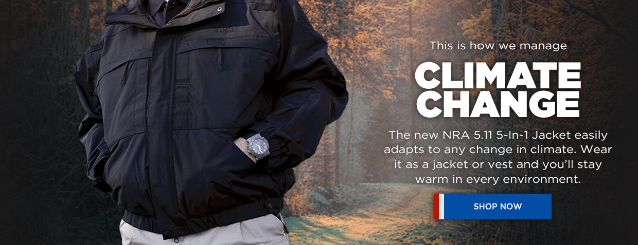 NRA 5.11 5-In-1 Jacket