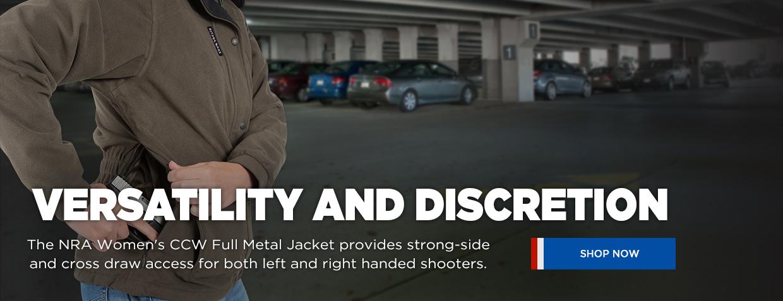 NRA Women's CCW Full Metal Jacket