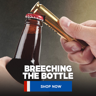 NRA .50 Caliber Bottle Opener