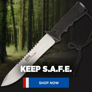NRA Tactical SAFE Knife