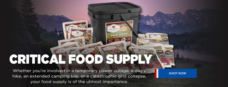 NRA Critical Food Supply