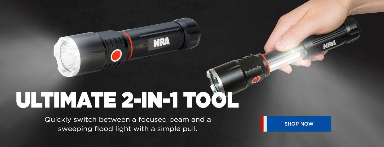 NRA Dual-Duty Flashlight