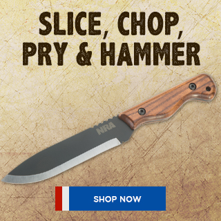 Grizzly Knife Banner