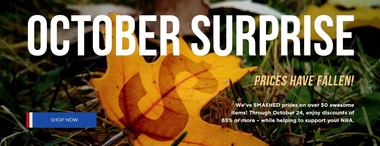October Suprise Sale