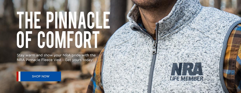 NRA Pinnacle Fleece Vest