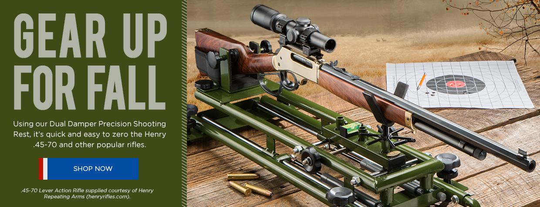 Dual Damper Shooting Rest