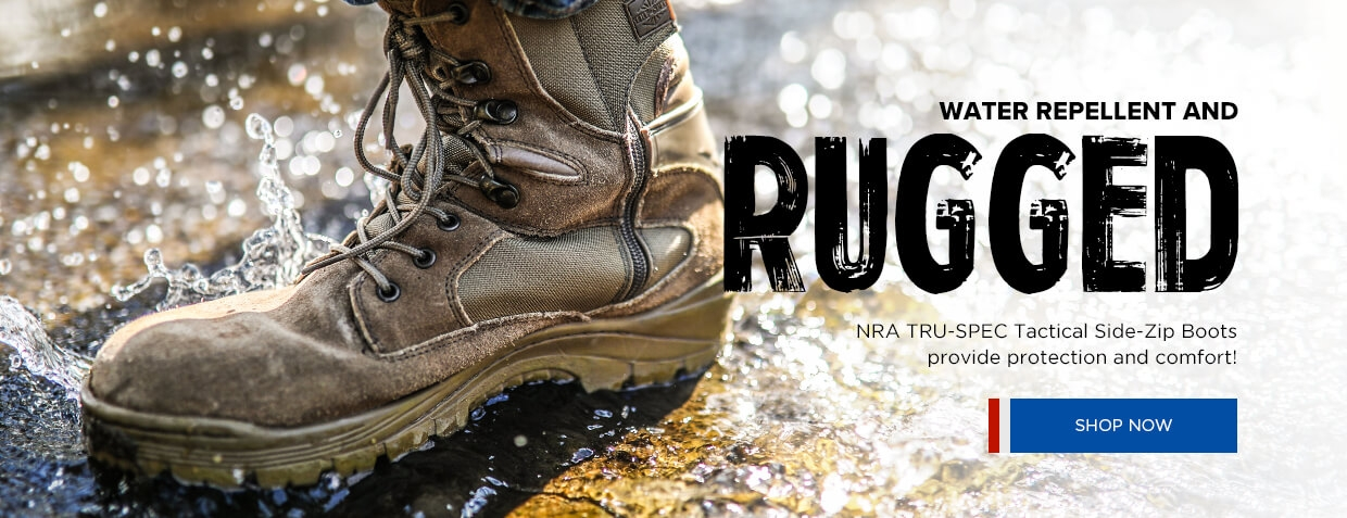 NRA TRU-SPEC Tactical Side Zip Boots