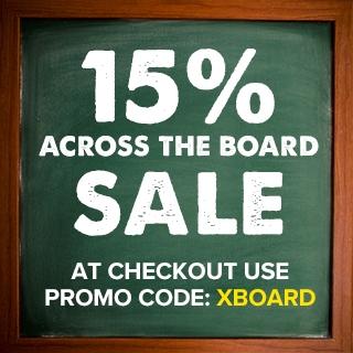 15% Off - Across the Board Sale